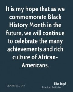 A Black History Month Quote